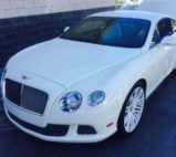 Bentley Continental GTC Paintless Dent Removal