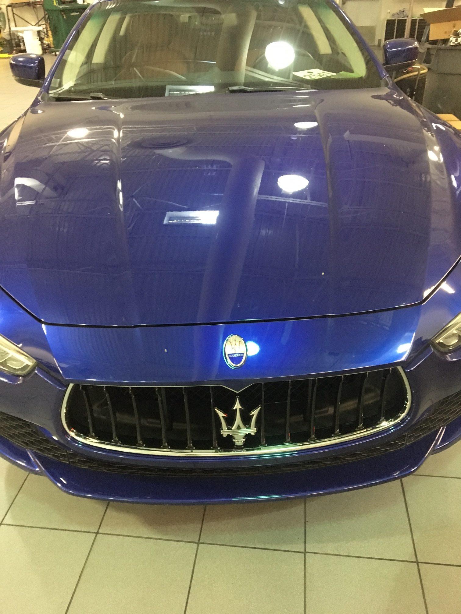 Maserati Ghibli Dent Removal