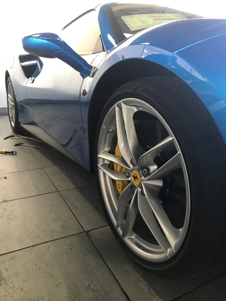 Ferrari 488 Dent Removal After 2