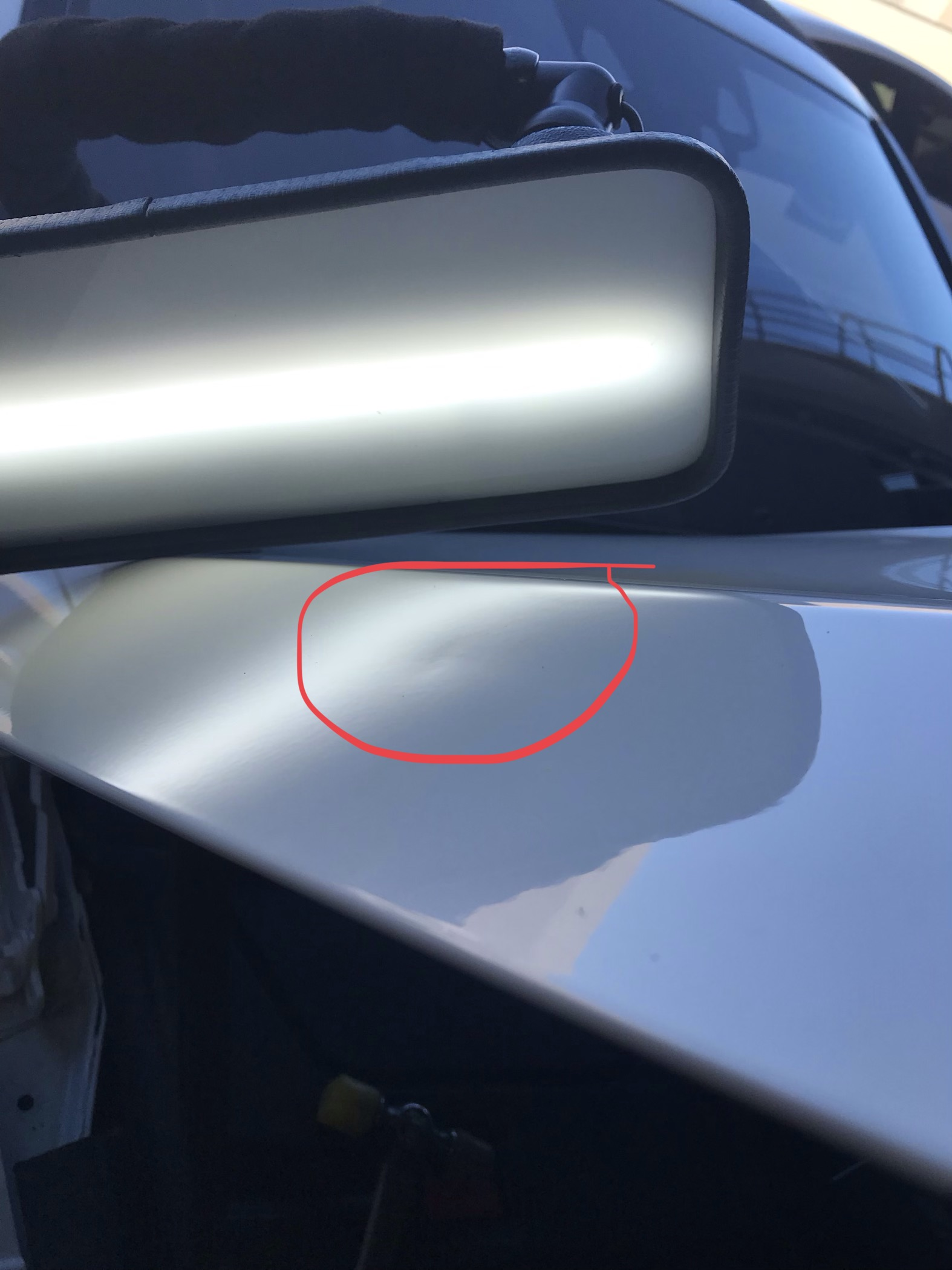 Mercedes CL 650 Dent Repair Before