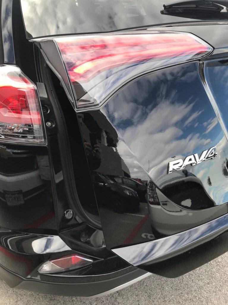 Toyota Rav 4 Dent Repair After